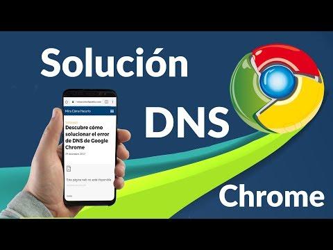 Problemas DNS en Chrome ¿Cómo Solucionarlo?