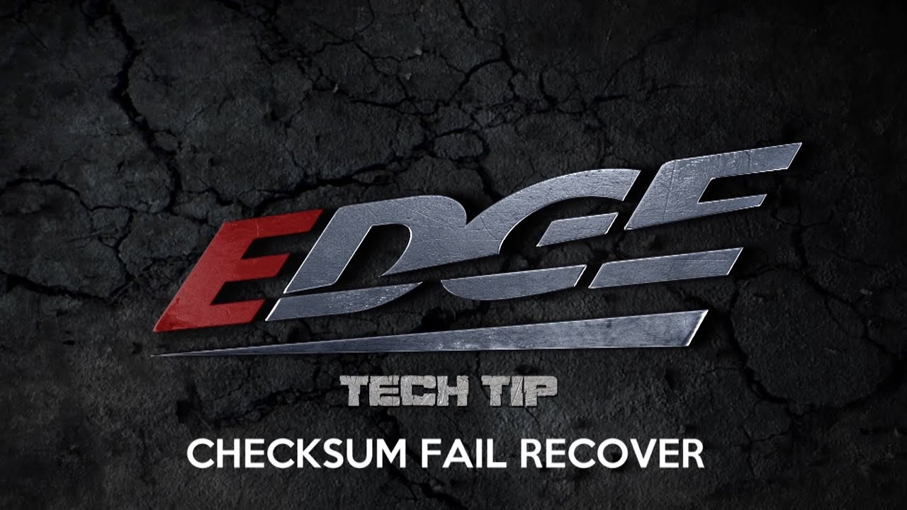 Checksum Fail Recover