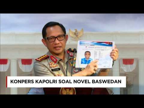 Kapolri Buka-bukaan Soal Penyidikan Novel Baswedan (KPK), Usai Bertemu Jokowi di Istana