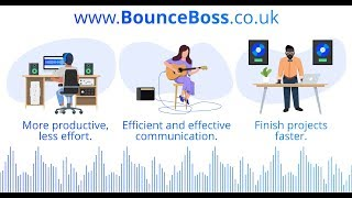 Collaborate on Audio Projects with Bounce Boss