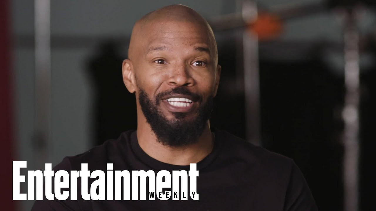 Behind The Scenes With Jamie Foxx For His 'Project Power' EW Cover Shoot