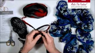 Repeat youtube video Make a Knit Twizzle Scarf