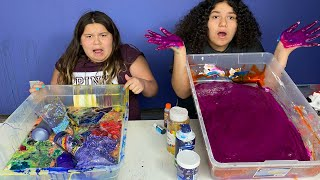 FIX EACH OTHERS SLIME CHALLENGE!!!