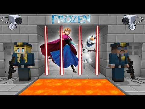 OLAF Y ANNA PRESOS (MINECRAFT PRISON ESCAPE)
