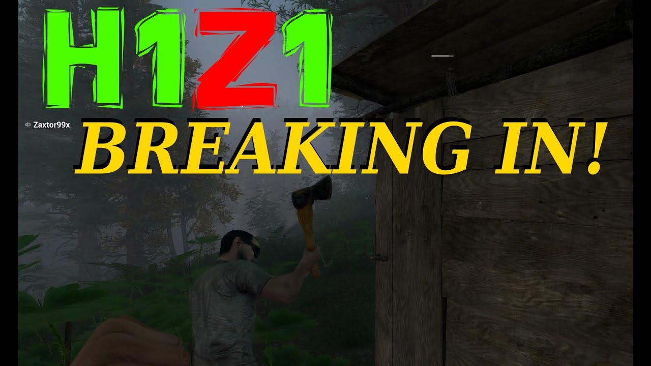 h1z1 how to build a shack