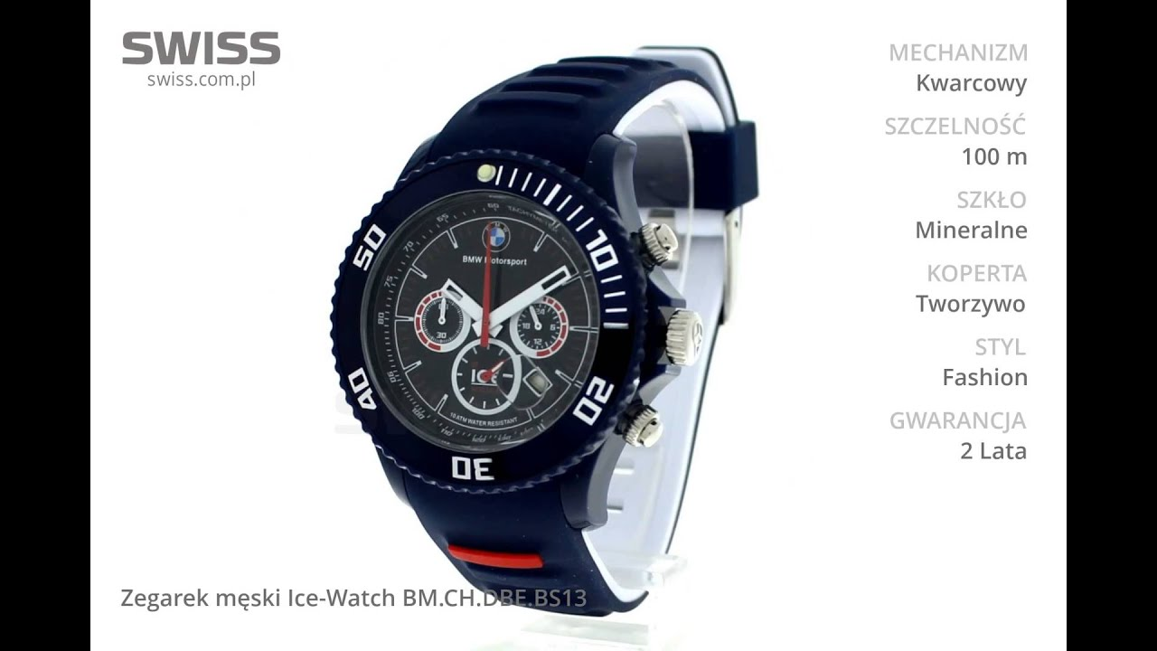 This blue and white watch is a medium size model with a double silicone strap that will perfectly fit with all your plain or multi colored outfits for a colorful style,