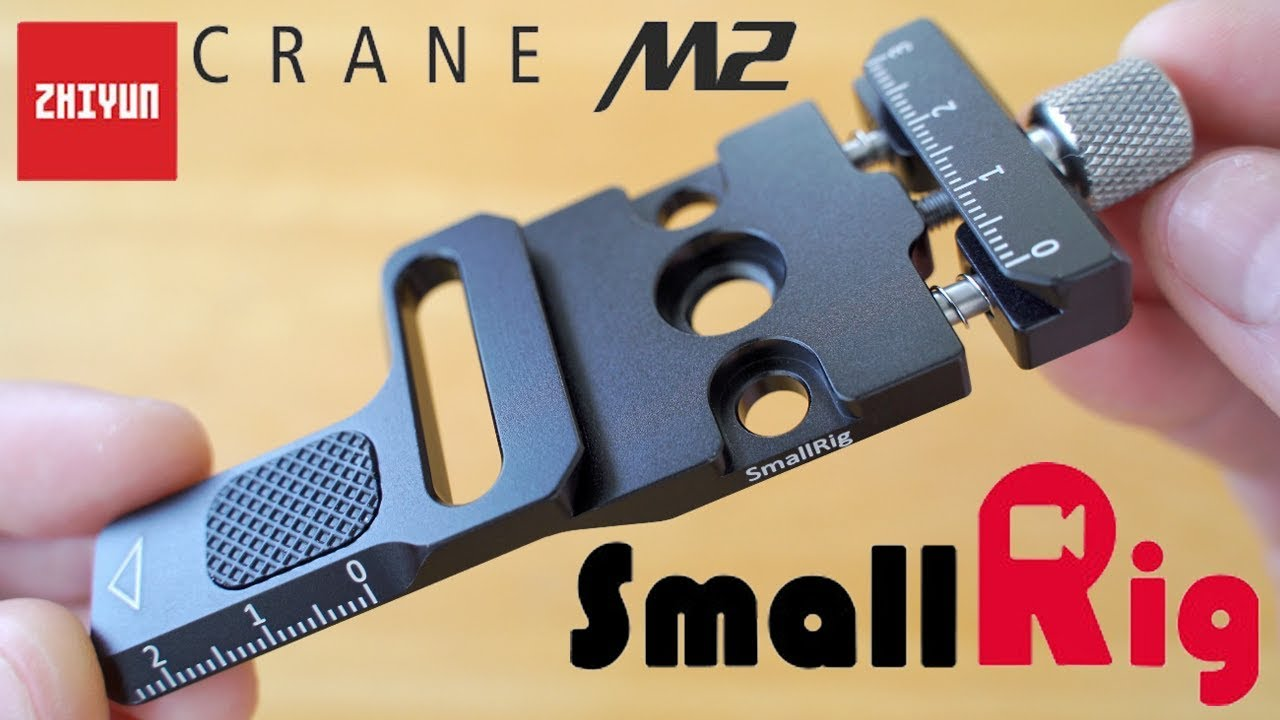 Official Zhiyun L-Shaped Quick Release Plate for Crane M2