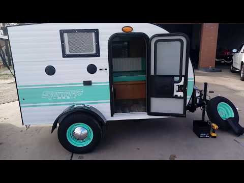 2018 SUNRAY CLASSIC...MICRO TRAVEL TRAILER