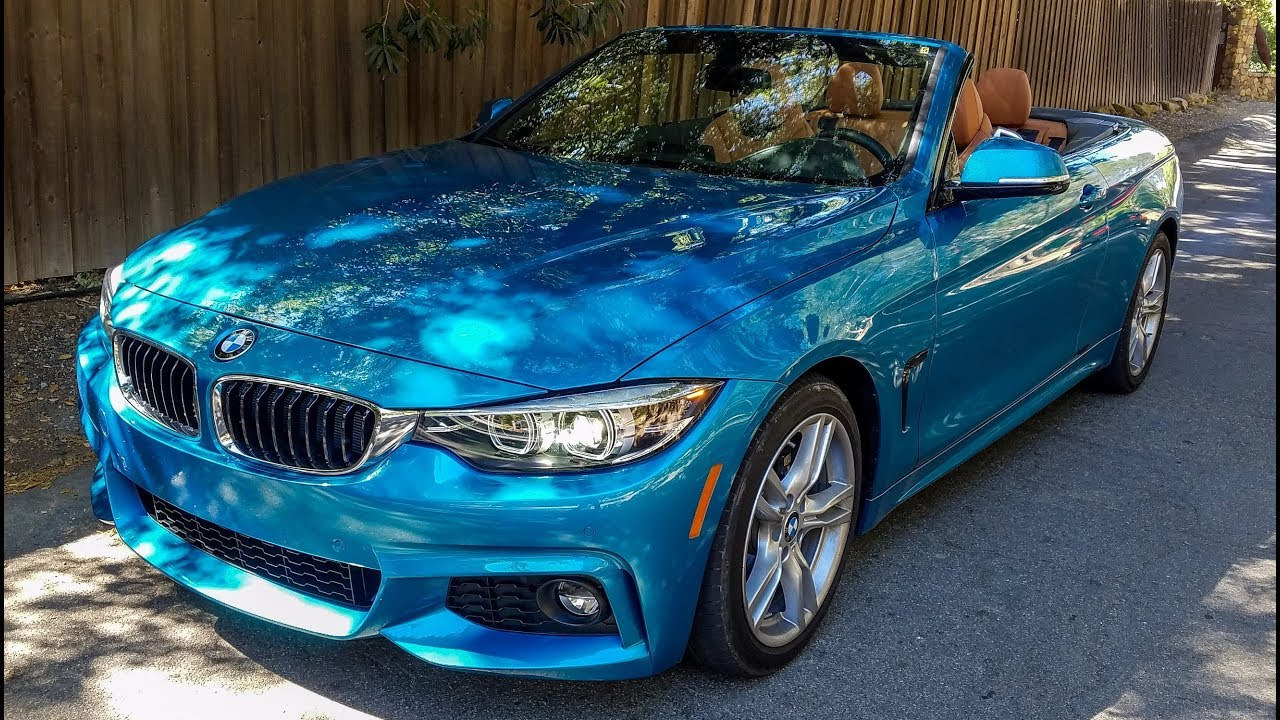 2018 bmw 430i convertible review the ultimate leasing. Black Bedroom Furniture Sets. Home Design Ideas