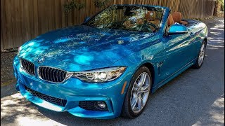 2018 BMW 430i Convertible Review: The Ultimate Leasing Machine