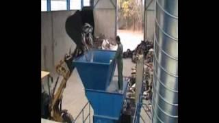 Linia i maszyny do produkcji alternatywnego paliwa - biomasy