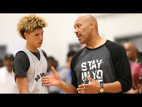 """LaVar Ball YELLS at LaMelo for Not Playing Defense: """"You"""