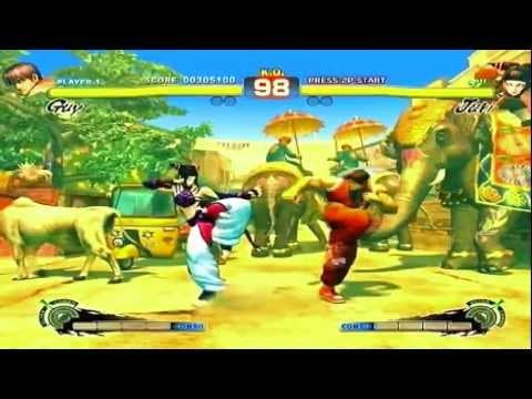Super Street Fighter IV - Guy vs Juki I PS3 / XBOX 360 Gameplay