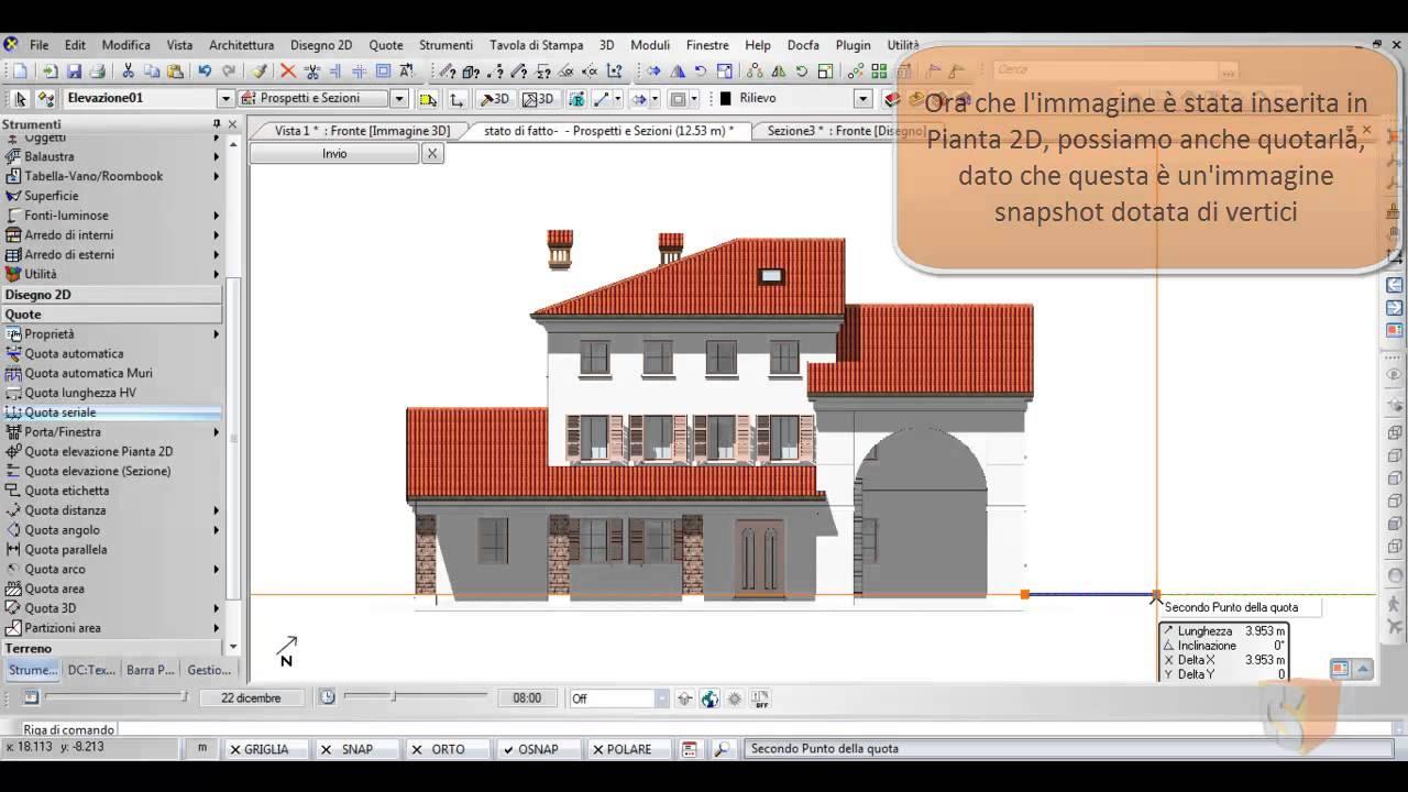 Gestione prospetti e sezioni youtube - Finestre dwg 2d ...