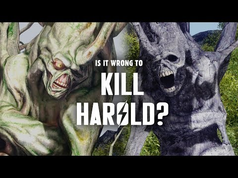 Is it Wrong to Kill Harold? - Fallout 3 Lore