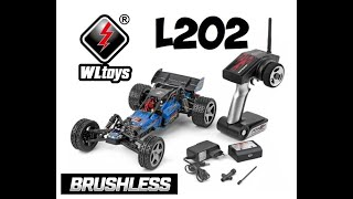 WLTOYS L202 Pro Wave Runner Baja Styled Brushless Buggy Unboxing & Overview