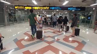 태국 방콕 수완나폼 공항 입국장 모습 View of S…