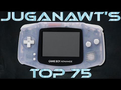 Top 75 Game Boy Advance Games Of All Time!