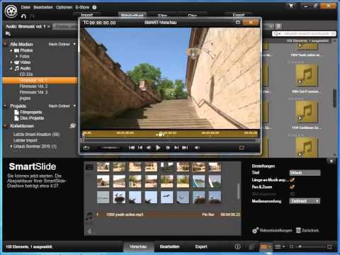 Smart Slide und Smart Movie in Avid studio und Pinnacle Studio