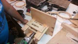 Homemade Oscillating Spindle Sander - Drill Powered!