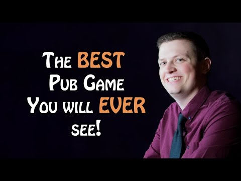 Possibly the best Pub Game you will ever see. Replay Cast with MotPax