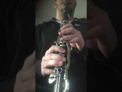 Isyan - klarnet eğitimi yakın çekim