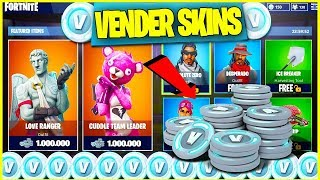 HOW TO SELL SKINS IN FORTNITE FOR FREE PAVOS *CONFIRMED UPDATE* Fortnite Battle Royale