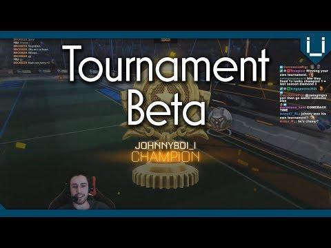 Rocket League Tournament Beta is Here!