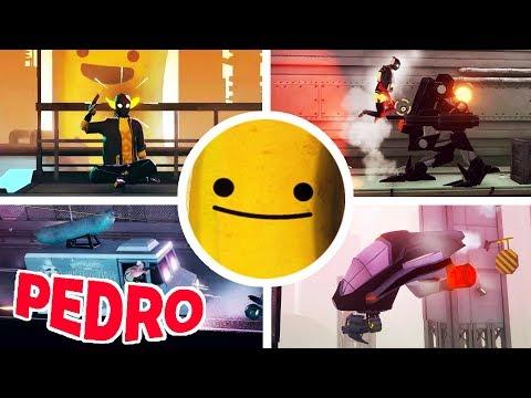 My Friend Pedro - All Bosses + Ending