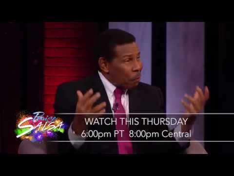 TBN Salsa Praise W/ Host Jason Renville Interviews Dr. Bill Winston With Music By Micah Stampley