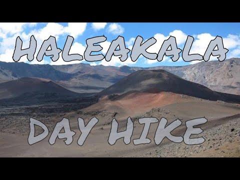 Haleakala Crater - Full Day Volcano Hike GoPro Maui Hawaii