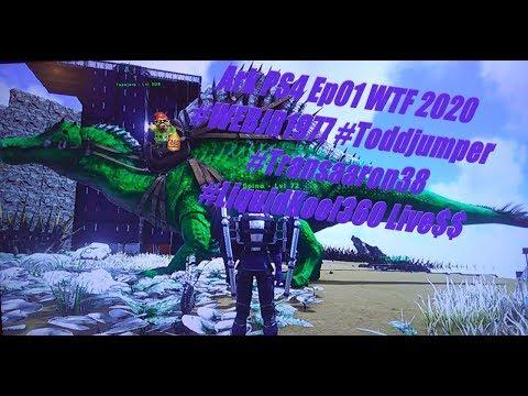 Ark PS4 Ep08 WTF 2020 #WEBJR1977 #Toddjumper #Transaaron38 #LiquidKool360 Live$$