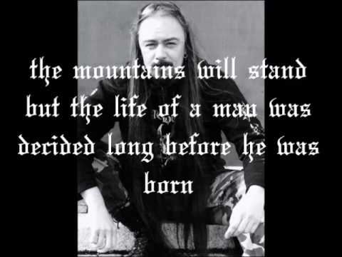 Bathory - Gods of thunder, of wind and of rain [lyric]