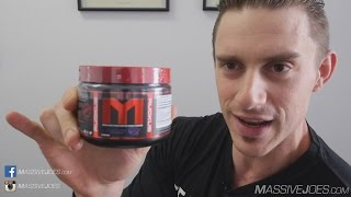 MTS Nutrition RUCKUS Pre-Workout Supplement Review  - MassiveJoes.com RAW Review Marc Lobliner