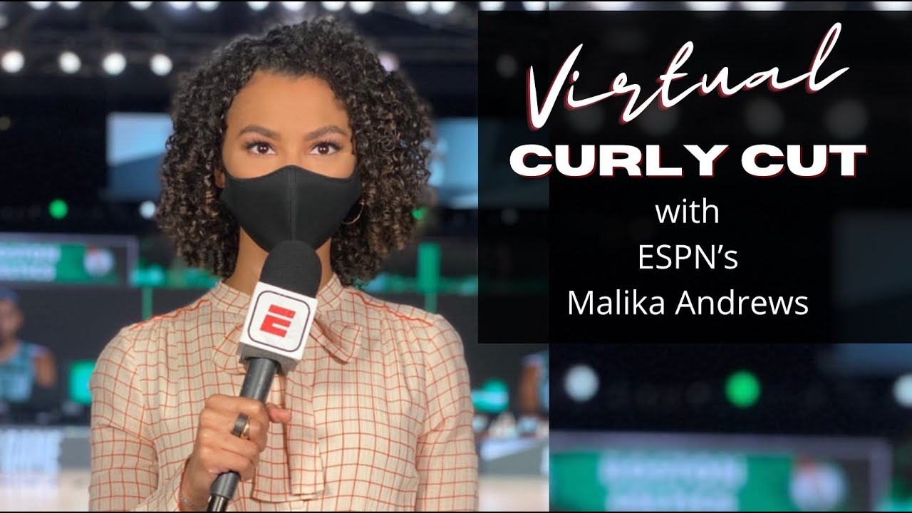 Virtual Haircut w/ Malika Andrews from the NBA Bubble