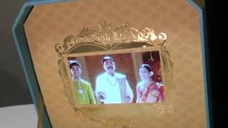 Janardhan Reddy's daughter's wedding invite!