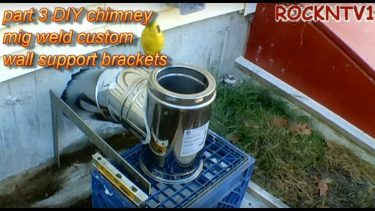 Supervent Chimney Flue Through Wall Support Bracket Pt3
