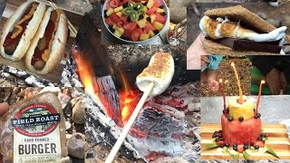 What I Ate On My Vegan Camping Trip