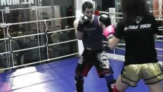 Marianna Kalergi VS - Meletis Kakoubavas - sparring Chalkida 2012 by RingStories.GR