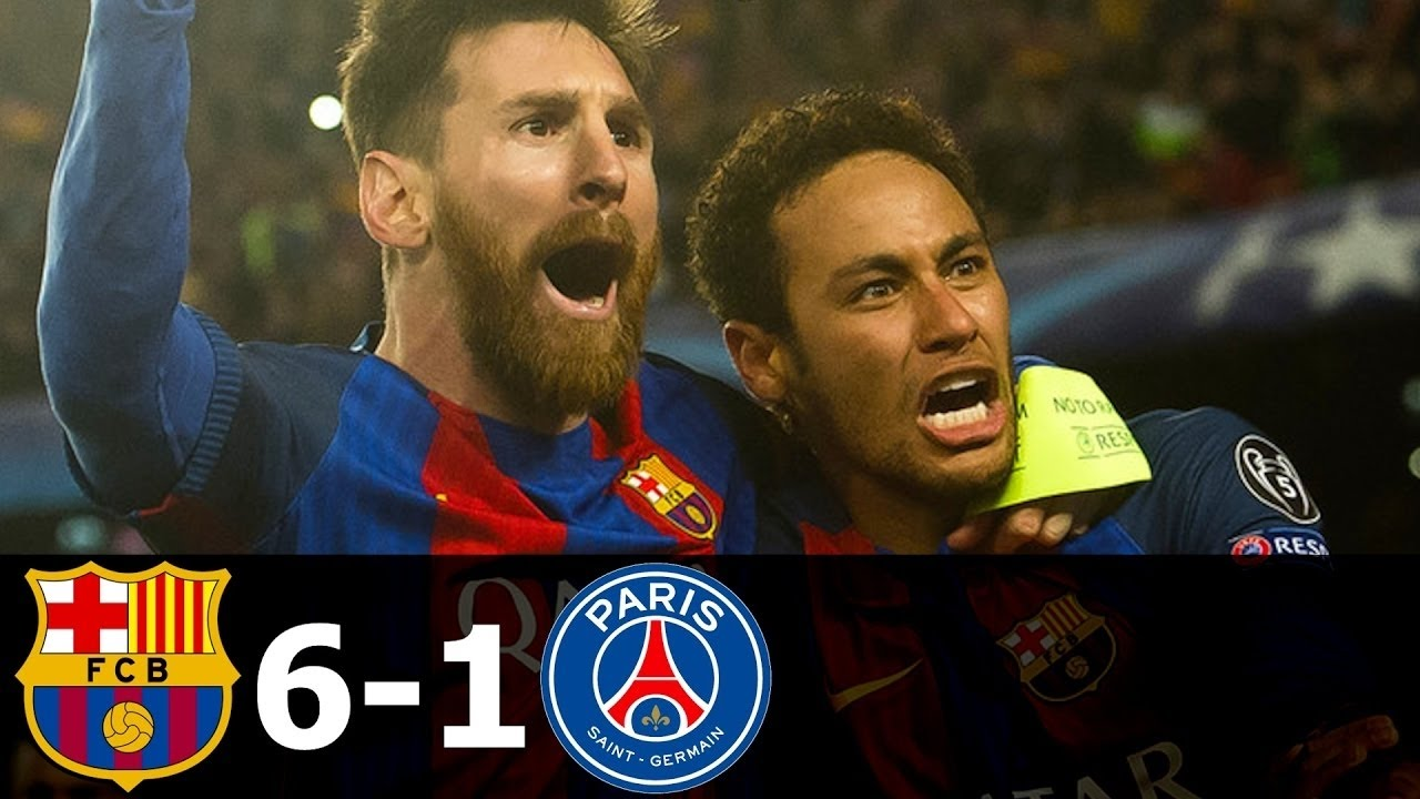 Download Barca vs PSG 6-1 All Goals Highlights Champions League 08 03 2017 HD