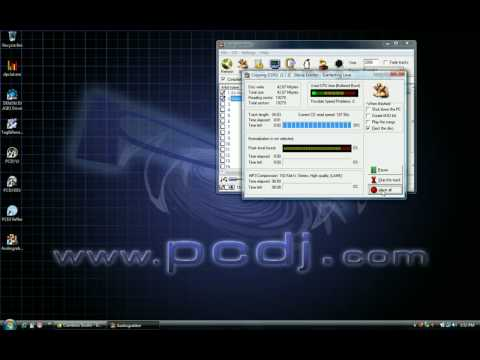 Converting a CDG to an MP3+G using Audiograbber (For use in karaoke software)