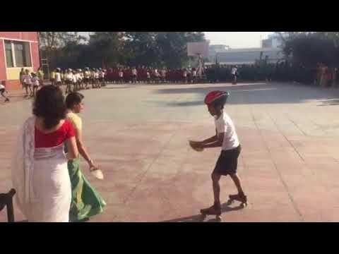 Skating dance at Ryan International School, Pune
