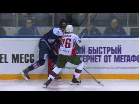 Dronov gets injured in Chibisov collision