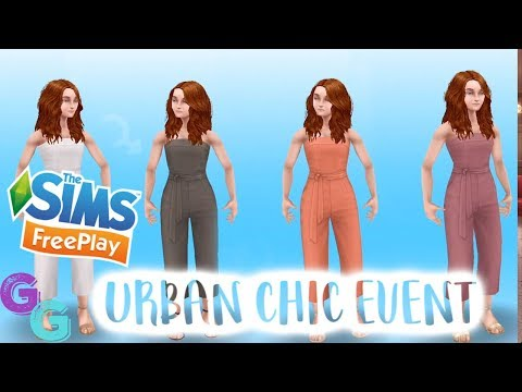 Sims Freeplay Fashion Design Urban Chic Event Early Access Youtube