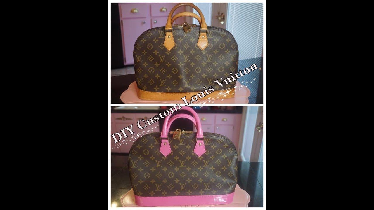 cb755e0cbc354 DIY - Custom Louis Vuitton - YouTube