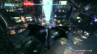 BATMAN™: ARKHAM KNIGHT Gotham City open world gameplay PS4