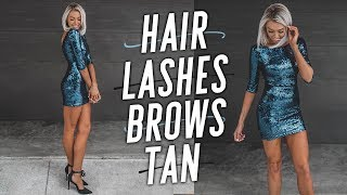 Girl Talk: Hair, Lashes, Brows, and Tan