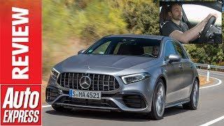Mercedes-AMG A 45 S 2019 review -  new £50k mega hatch packs 415bhp monster engine