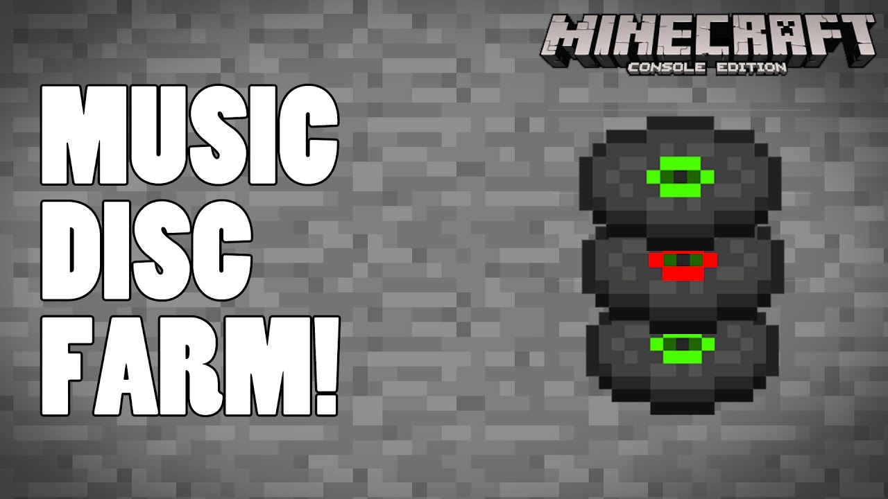 Music Disc Farm Minecraft Ps4 Xbox One Console Tutorial