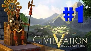 Civilization 5 - O INÍCIO COM OS INCAS!!! #1 (Gameplay / PC / PTBR) HD